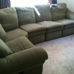 Lazy Boy Sofas And Sectionals Mammoth Sofa Bean Bag Large Sectional W 2 Recliners Gone Free