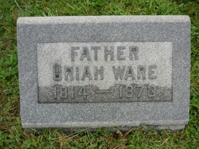 Father Uriah Ware 1814-1873
