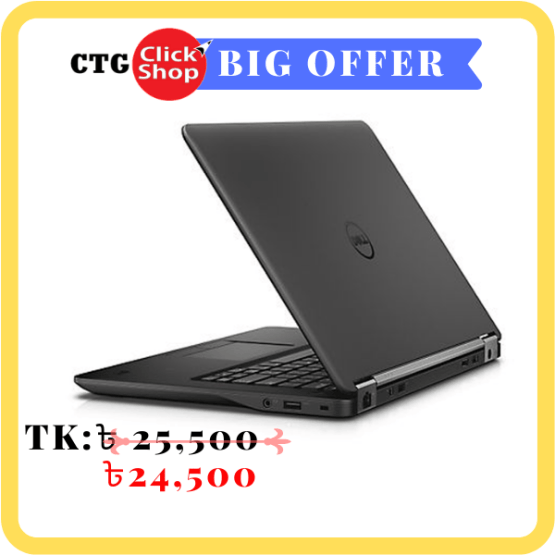 Dell Latitude E7450 Intel Core i5 4GB RAM 500GB HDD 14 Full HD Display Laptop Bangladesh - Price and Details