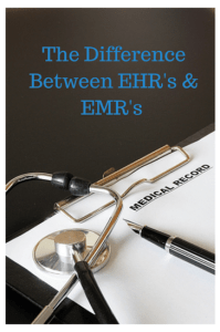 The Difference Between EHR's & EMR's