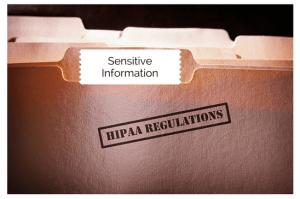 transfer of sensitive information and HIPPA regulations