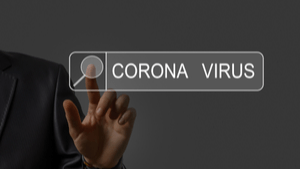 Corona Virus Cyber Scam Cover