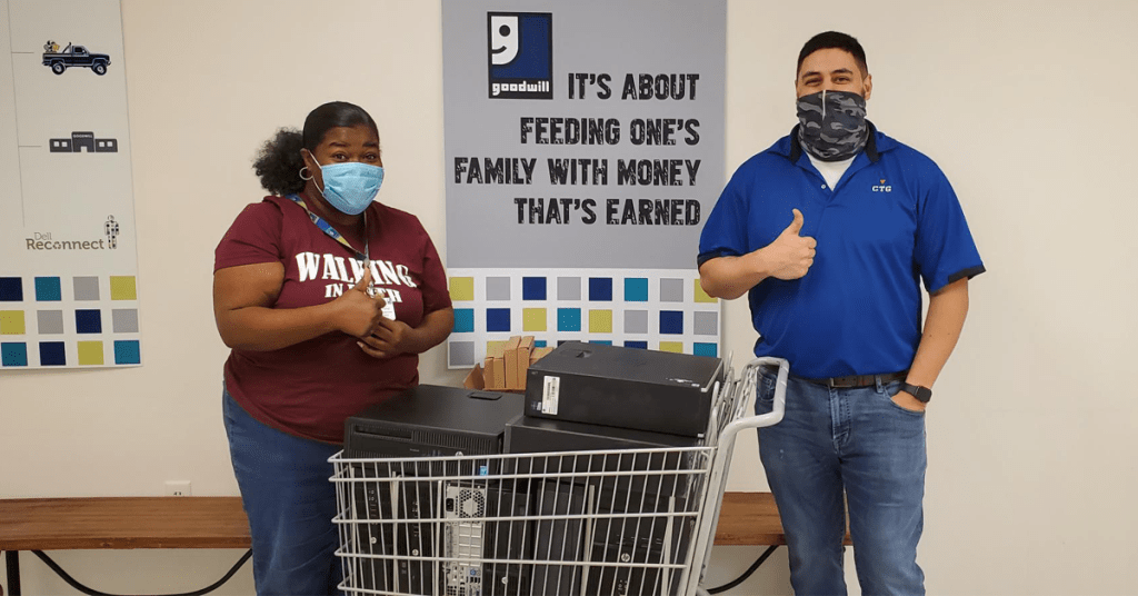 CTG Cares and Goodwill