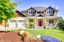 Beautiful Houses with Red Doors