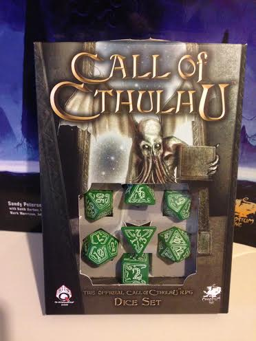 Call of Cthulhu Dice Packaging