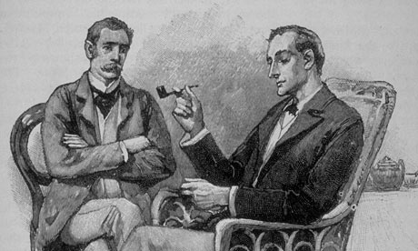 Sherlock Holmes By Sydney paget
