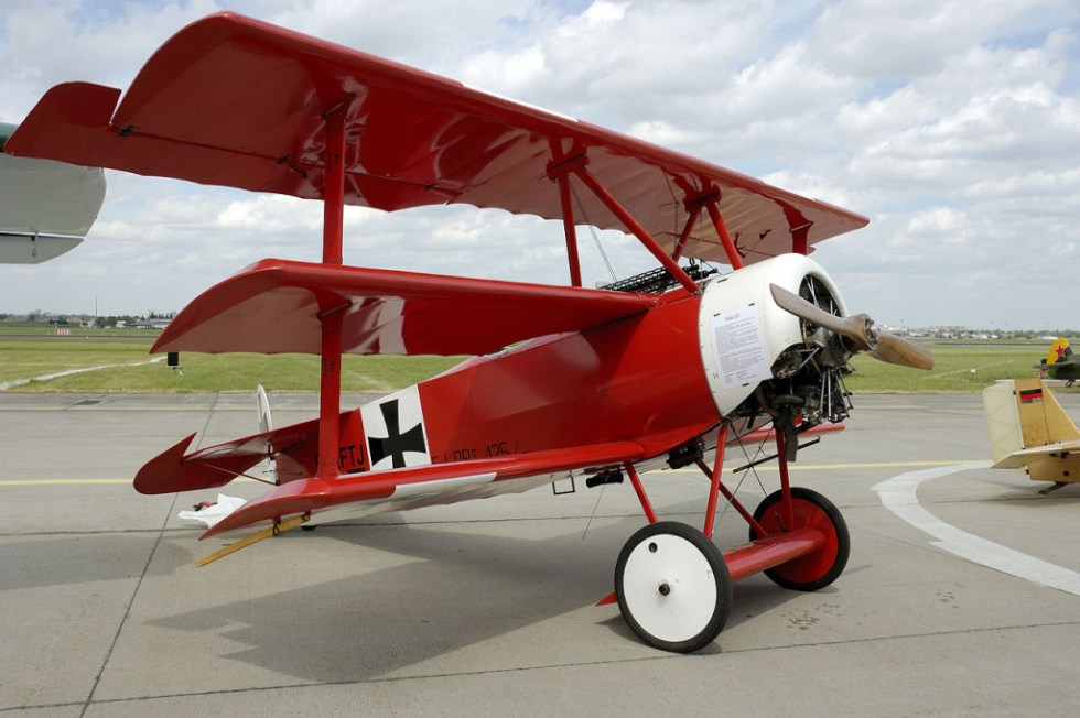 Red Baron shooting down UFOs  Call of Cthulhu game ideas