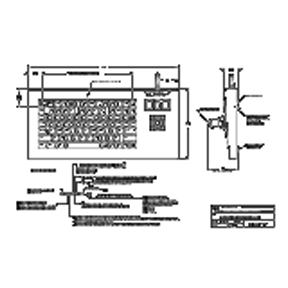OEM Industrial Keyboard