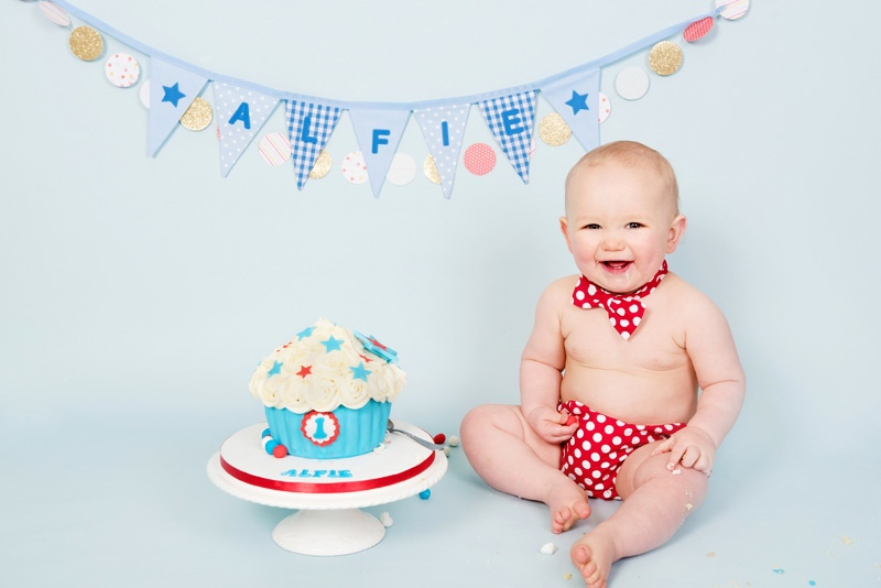 Baby First Birthday Cake