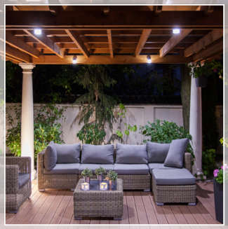 tips to light your outdoor patio ct