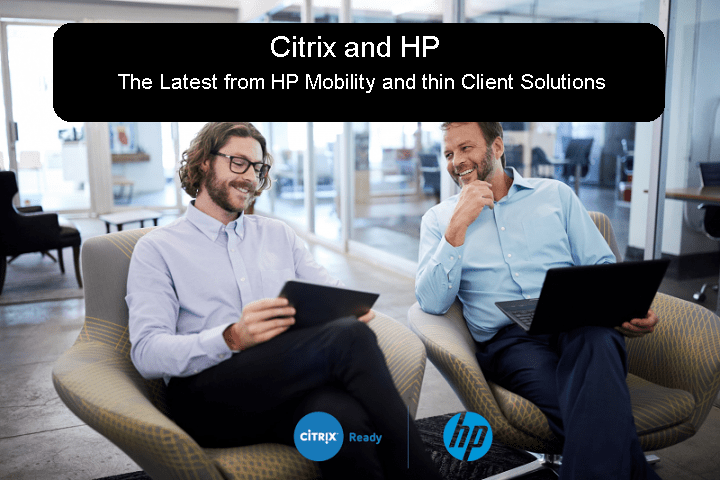 What's new with HP at Citrix Synergy 2017