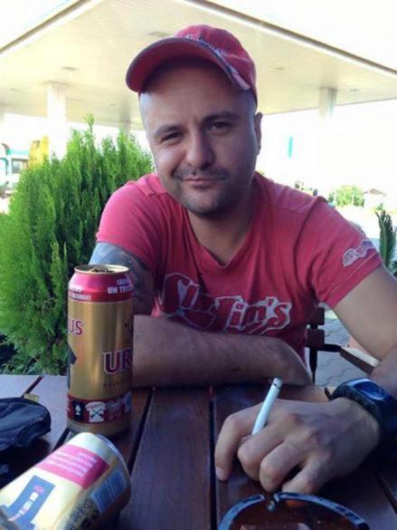 Vladimir Marin, barbatul care a lovir cu masina un politist la Mamaia. FOTO Facebook