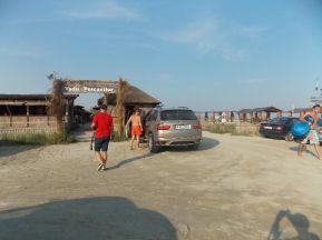 """Cherhanaua """"Vadu Pescarilor"""" atunci când era plină de turiști. FOTO Facebook"""