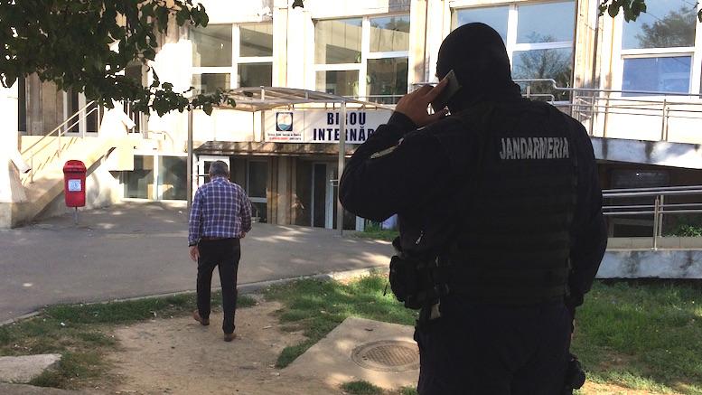 Percheziții la Spitalul Județean de Urgență Constanța