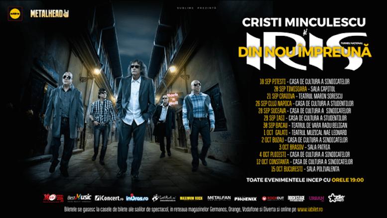 Turneul Iris și Cristi Minculescu