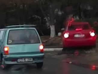 Incident în trafic la Constanța. FOTO Captură video