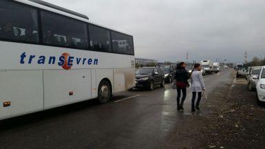 Viitura dintre Năvodari și Corbu. FOTO Facebook