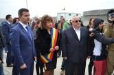 ministrul Marius Nica, Ancuța Belu și Felix Stroe. FOTO Adrian Boioglu