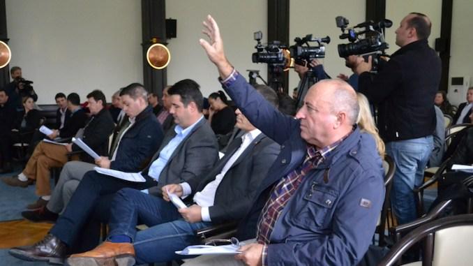 Tudorel Chesoi la Ședința de Consiliu Local. FOTO Adrian Boioglu