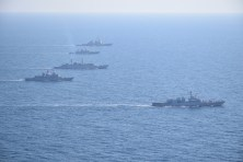 Două nave românești vor participa la misiuni de supraveghere a traficului maritim din Marea Neagră sub comanda NATO. FOTO Navy.ro