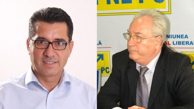 Senatorii liberali Christian Gigi Chiru și Puiu Hașotti