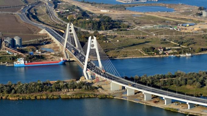 Noul pod de la Agigea
