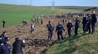 Jandarmii români și militarii americani. FOTO Adrian Boioglu
