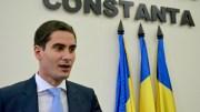 Costin Răsăuțeanu, noul viceprimar al Constanței. FOTO Adrian Boioglu