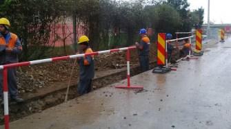 Rețea de gaze la Eforie. FOTO Călin Gavrilaș
