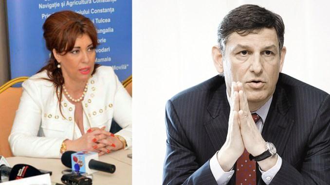 Corina Martin și Costin Bord. FOTO Facebook / zf.ro