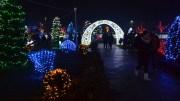 Iluminatul festiv de la Peștera. FOTO Adrian Boioglu