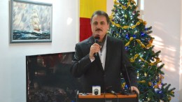 Adrian Mihalcioiu, liderul Sindicatului Liber al Navigatorilor. FOTO Adrian Boioglu