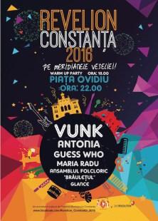 Afiș Revelion 2016 la Constanța