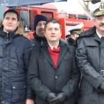 Decebal Făgădău, Costin Răsăuțeanu și viceamiralul Alexandru Mîrșu. FOTO Adrian Boioglu