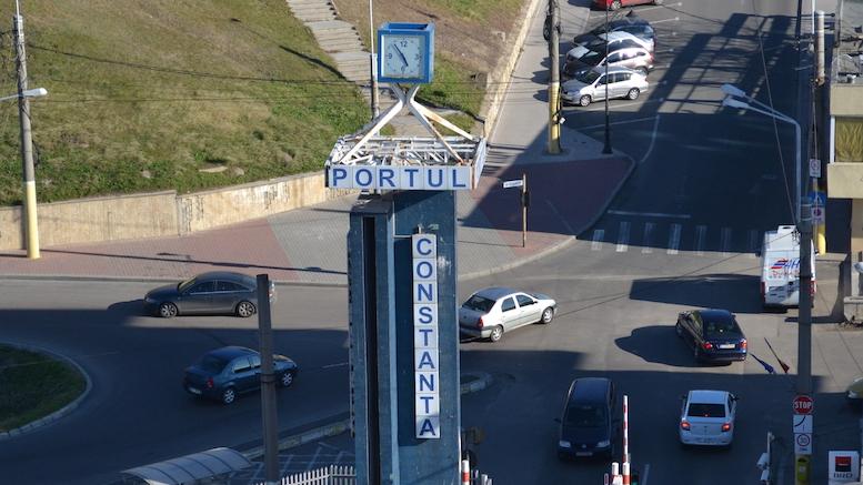 Intrarea în Portul Constanța. FOTO Adrian Boioglu