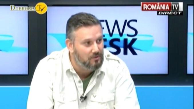 Adrian Boioglu, invitat la Dobrogea TV