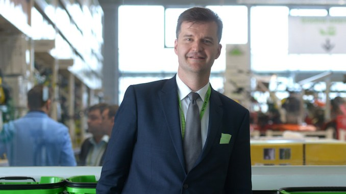 Frederic Lamy, General Manager Leroy Merlin Romania