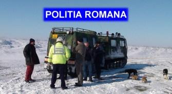 Paznicul salvat de polițiști. FOTO IPJ Constanța