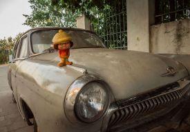 la drum. FOTO Viorel Papu