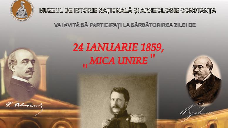 Unirea de pe 24 ianuarie, aniversată la Constanța
