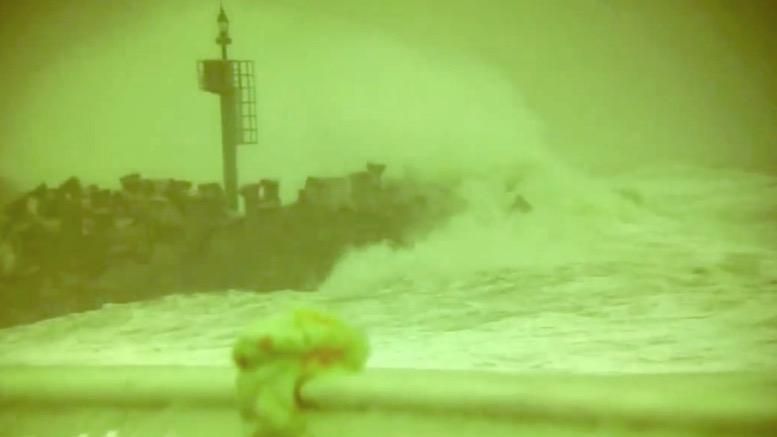 Porturile au fost închise. FOTO Captură video Eurosail