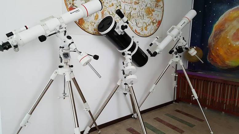 Telescoapele de la Observatorul Astronomic Constanța