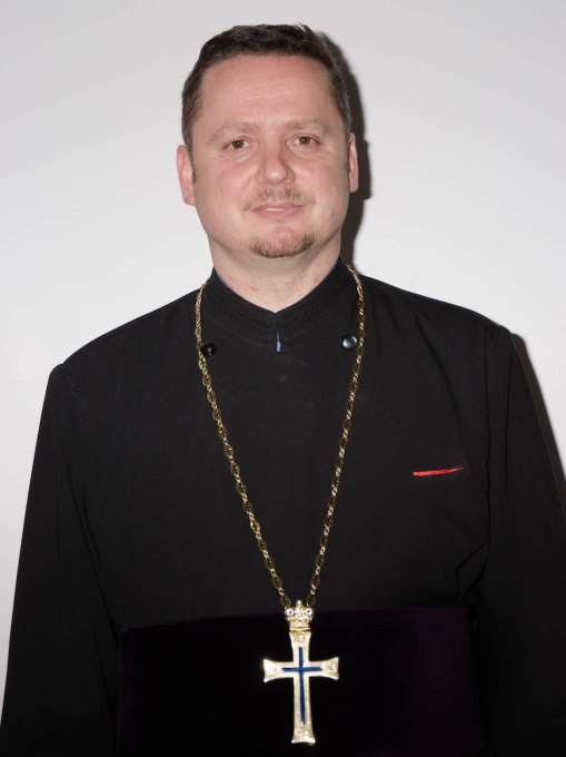 Preotul Gheorghe Nadoleanu. FOTO arhiva personală