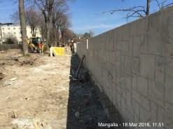 Aleea Teilor este Aleea zidului. FOTO petitieonline.com