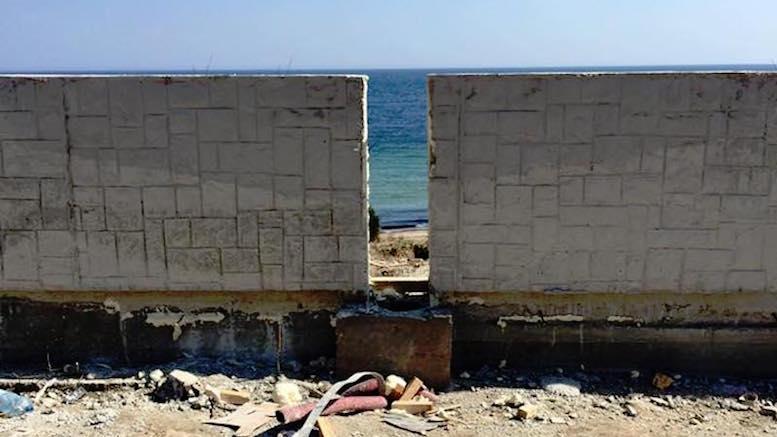 Zidul de la Mangalia