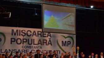 Piramida lui Palaz, la primăriei. FOTO Adrian Boioglu