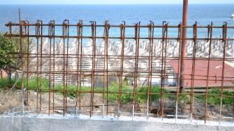 Zidul de la Mangalia. FOTO Adrian Boioglu