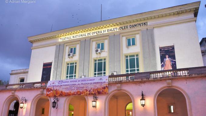 Teatrul Național de Operă și Balet Oleg Danovski Constanța. FOTO Adrian Mergiani
