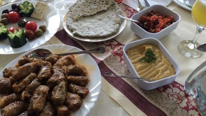 Mâncare de post la Mănăstirea Crucea. FOTO Adrian Boioglu