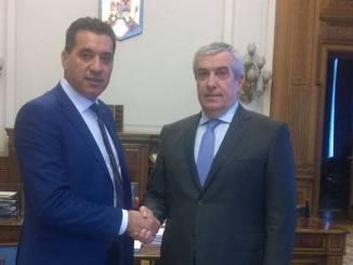 Christian Gigi Chiru și Călin Popescu Tăriceanu